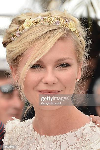 """Actress Kirsten Dunst attends the """"On The Road"""" Photocall during the 65th Annual Cannes Film Festival at Palais des Festivals on May 23, 2012 in..."""