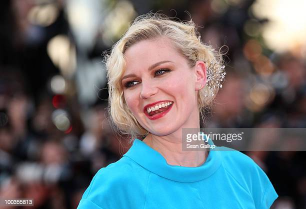 Actress Kirsten Dunst attends the Palme d'Or Award Closing Ceremony held at the Palais des Festivals during the 63rd Annual Cannes Film Festival on...