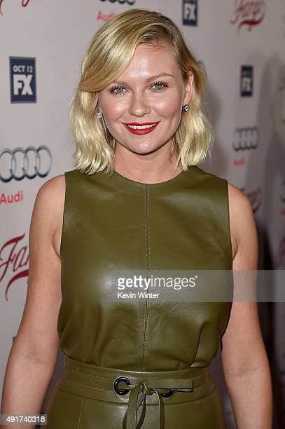 Actress Kirsten Dunst attends the premiere of FX's Fargo Season 2 at ArcLight Cinemas on October 7 2015 in Hollywood California