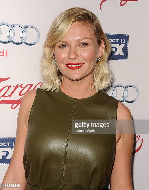 Actress Kirsten Dunst attends the premiere of FX's 'Fargo' season 2 at ArcLight Cinemas on October 7 2015 in Hollywood California