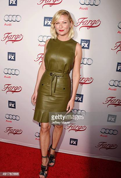 Actress Kirsten Dunst attends the premiere of FX's 'Fargo' Season 2 held at ArcLight Cinemas on October 7 2015 in Hollywood California