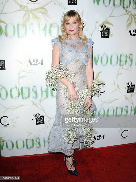 Actress Kirsten Dunst attends the premiere of 'Woodshock' at ArcLight Cinemas on September 18 2017 in Hollywood California