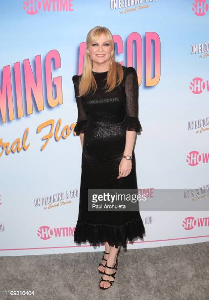Actress Kirsten Dunst attends the screening of Showtime's Becoming A God In Central Florida at The London Hotel on August 20 2019 in West Hollywood...