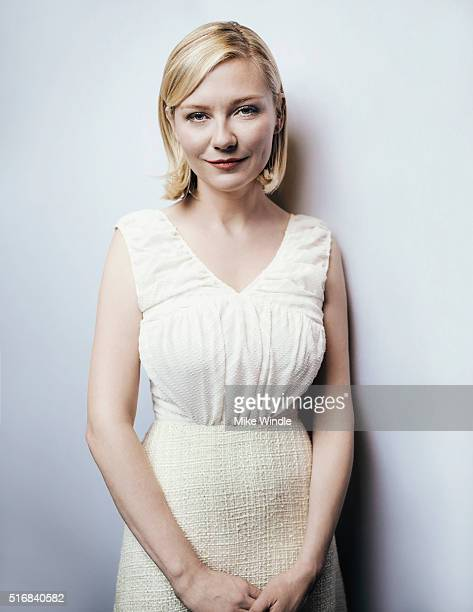 Actress Kirsten Dunst is photographed for Portrait Session on March 15 2016 in Austin Texas