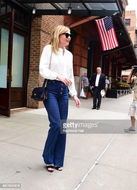 Actress Kirsten Dunst is seen walking in Soho on June 19 2017 in New York City