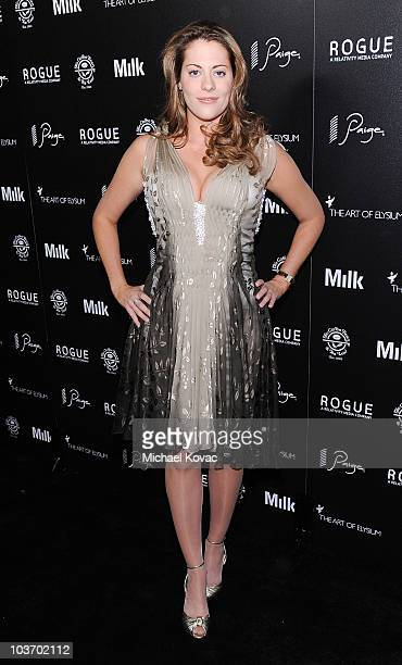 Actress Kirsten Lea arrives at The Art of Elysium's 2nd Annual Genesis Awards at Milk Studios on August 28, 2010 in Hollywood, California.