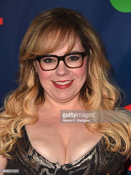 Actress Kirsten Vangsness attends CBS' 2015 Summer TCA party at the Pacific Design Center on August 10 2015 in West Hollywood California
