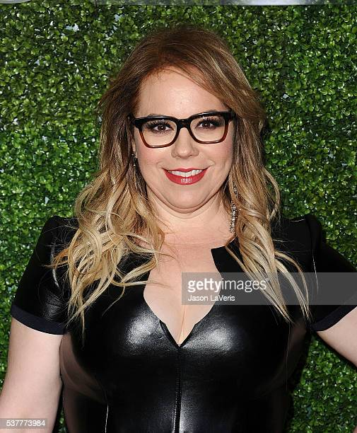 Actress Kirsten Vangsness attends the 4th annual CBS Television Studios Summer Soiree at Palihouse on June 2 2016 in West Hollywood California