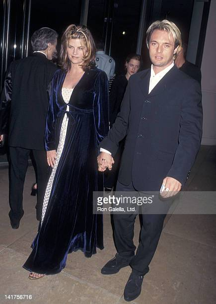 Actress Kirstie Alley and actor James Wilder attend the 12th Annual American Cinemathque Award Salute to John Travolta on September 13 1997 at the...