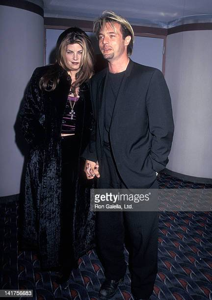 Actress Kirstie Alley and actor James Wilder attend the Welcome to Sarajevo New York City Premiere on November 24 1997 at Sony Theatres 19th Street...