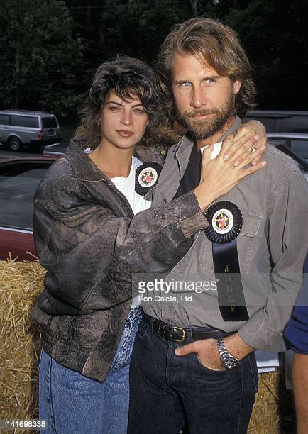 Actress Kirstie Alley and actor Parker Stevenson attend the 12th Annual Great Coldwater Canyon Chili Cookoff to Benefit St Michael All Angels' Parish...