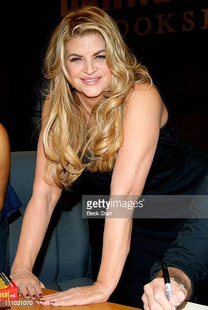 Actress Kirstie Alley attends Cheryl Burke and Chris Jericho's book signing at Barnes Noble bookstore at The Grove on March 28 2011 in Los Angeles...