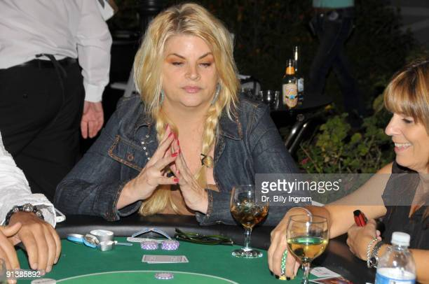 Actress Kirstie Alley attends Nancy Cartwright's 4th Annual Monte Carlo Night to benefit PALS on October 3 2009 in Northridge California