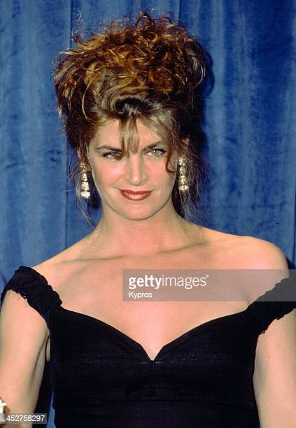 Actress Kirstie Alley attends the 43rd Annual Primetime Emmy Awards on August 25 1991 at the Pasadena Civic Auditorium in Pasadena California