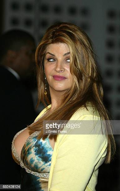 Actress Kirstie Alley attends the premiere of Showtime's Fat Actress at the Cinerama Dome at Arclight Cinemas