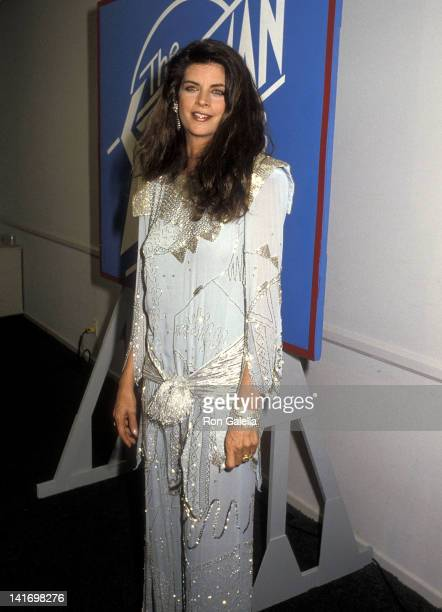 Actress Kirstie Alley attends the Second Annual Stuntman Awards on March 22 1986 at the KTLA Studios in Hollywood California