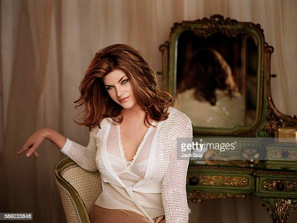 Actress Kirstie Alley is photographed for TV Guide Magazine in 2005 in Los Angeles California