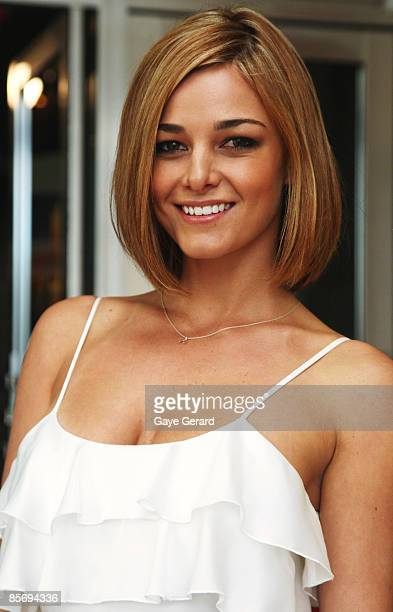 Actress Kirsty Lee Allan arrives for the nominations announcement for the 51st TV Week Logie Awards which takes place on May 3 in Melbourne at Hoyts...