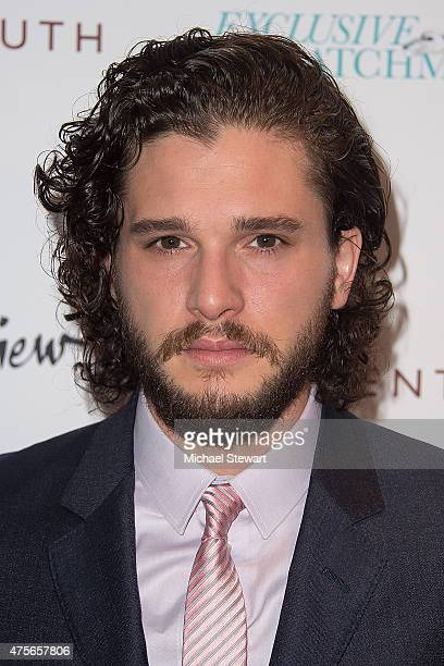 Actress Kit Harington attends the Testament Of Youth New York Premiere at Chelsea Bow Tie Cinemas on June 2 2015 in New York City