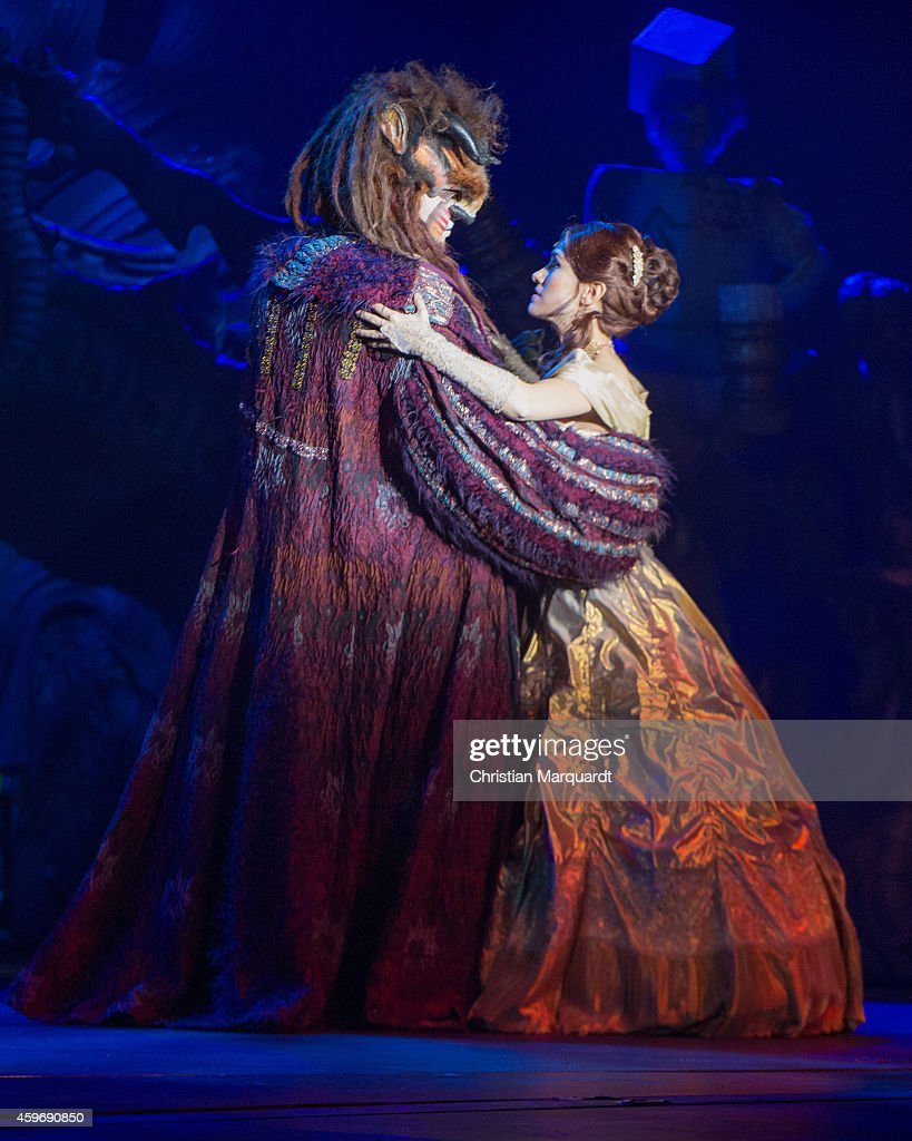 'Beauty And The Beast' Musical Rehearsal In Berlin : News Photo