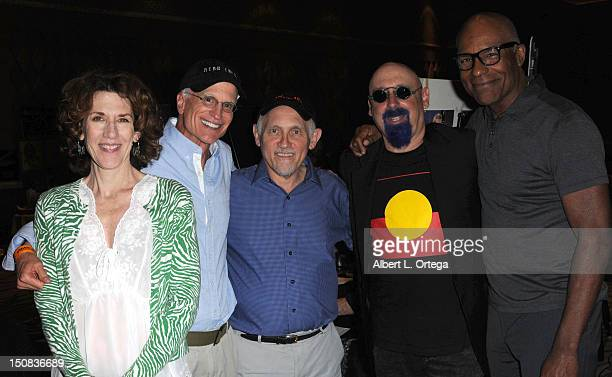 Actress Kitty Swink director David Livingston actor Armin Shimmerman producer Ira Steven Behr and actor Michael Dorn participate in the 11th Annual...