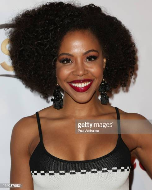 Actress KJ Smith attends the 10th Annual Indie Series Awards at The Colony Theater on April 03 2019 in Burbank California