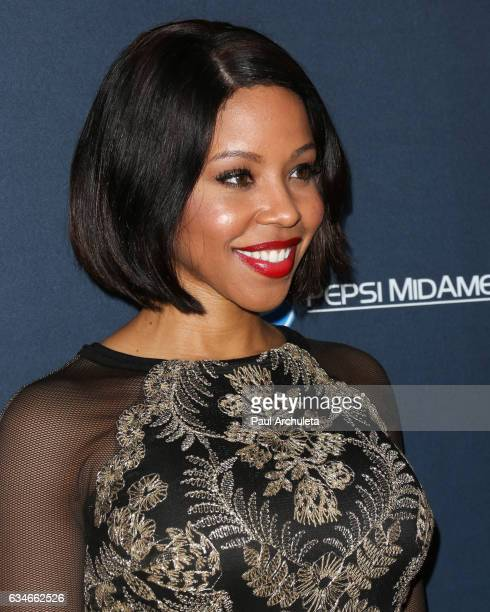 Actress KJ Smith attends the 25th Annual Movieguide Awards at Universal Hilton Hotel on February 10 2017 in Universal City California