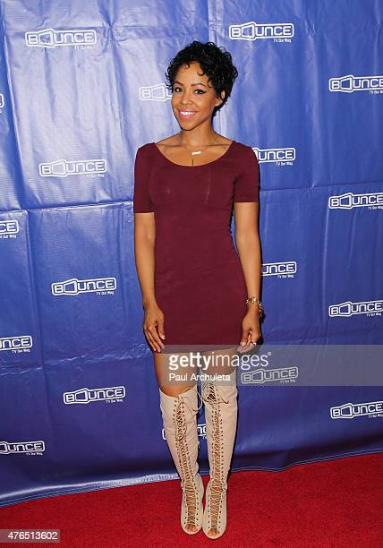 Actress KJ Smith attends the Family Time Season 3 wrap party on June 9 2015 in Encino California