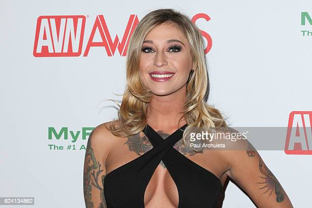 Actress Kleio Valentien attends the 2017 AVN Awards nomination party at Avalon on November 17 2016 in Hollywood California