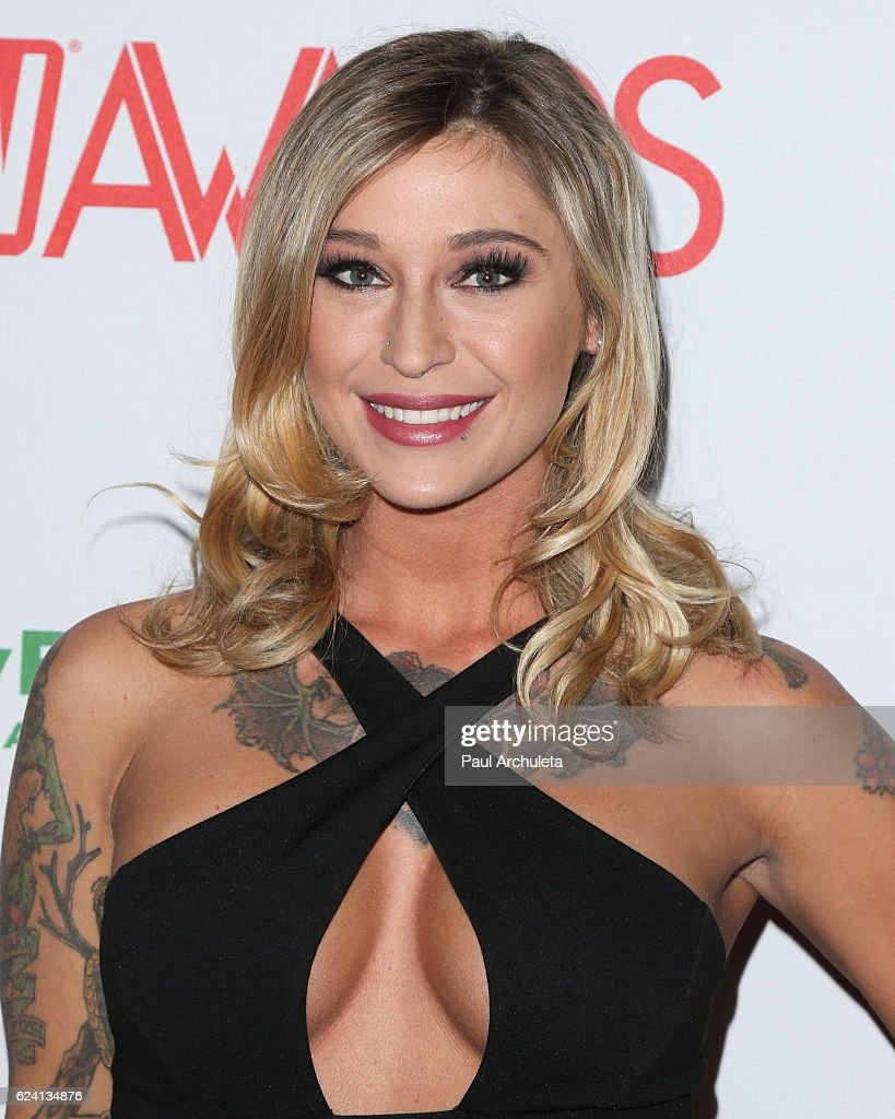 Actress Kleio Valentien Attends The 2017 AVN Awards Nomination Party At  Avalon On November 17,