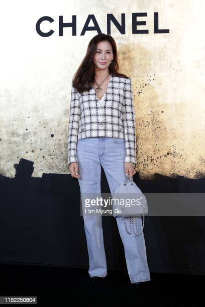 Actress Ko SoYoung aka Go SoYoung attends the CHANEL ParisNew York 2018'19 Metiers d'Art show on May 28 2019 in Seoul South Korea
