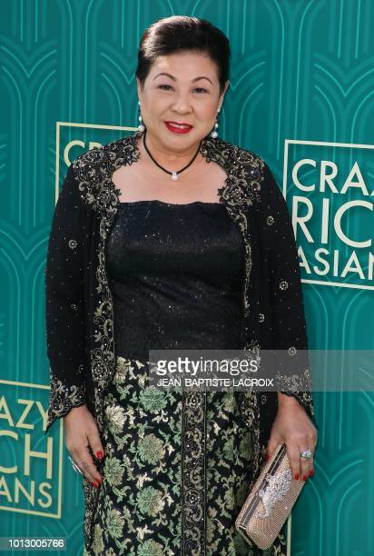 Actress Koh Chieng Mun attends the premiere of Warner Bros Pictures' 'Crazy Rich Asians' in Hollywood California on August 7 2018