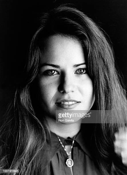 Actress Koo Stark attends the opening of 'So Who Needs Men' on October 7 1976 at the New London Theater in London England