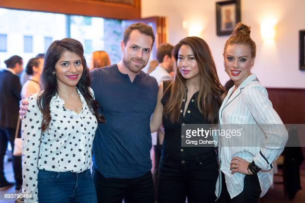 Actress Kosha Patel Colin Henderson Nikki McKenzie and Jo Newman attend the Landing Up World Premiere during 20th Annual Dances With Films at TCL...