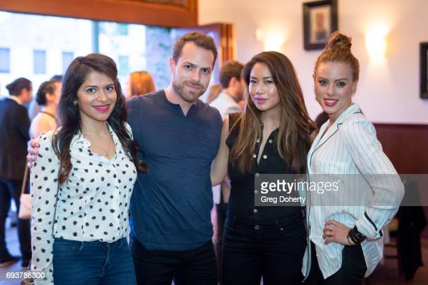 Actress Kosha Patel guest guest and Jo Newman attend the Landing Up World Premiere during 20th Annual Dances With Films at TCL Chinese 6 Theatres on...