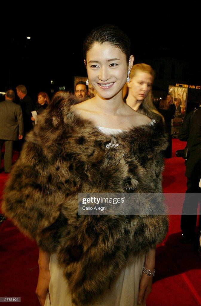 The Last Samurai Premiere : News Photo
