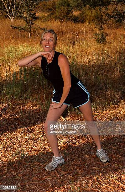 Actress Kris Murphy poses at the 8th Annual Expedition Inspiration TakeAHike at Paramount Ranch in the Santa Monica Mountains National Recreation...