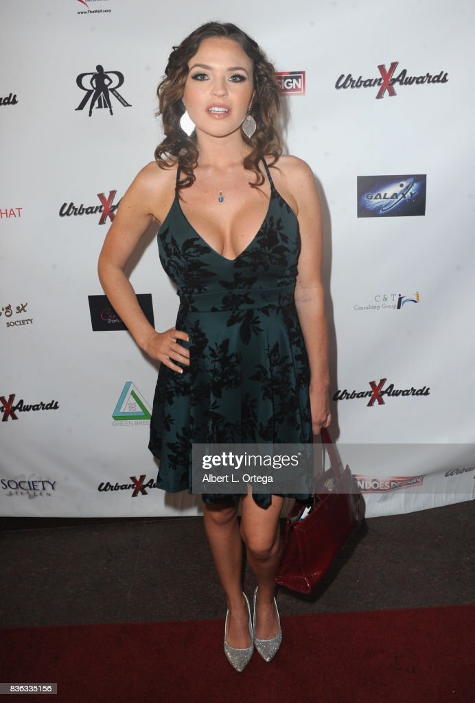 Actress Krissy Lynn arrives for the 6th Urban X Awards held at Stars On Brand on August 20, 2017 in Glendale, California.
