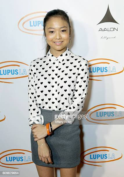 Actress Krista Marie Yu attends the Get Lucky for Lupus LA Celebrity Poker Tournament at Avalon on September 21 2016 in Los Angeles California