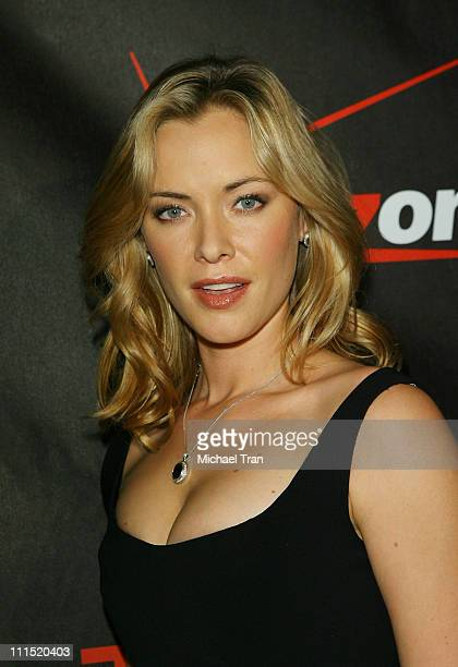 Actress Kristanna Loken arrives at the Los Angeles screening of Terminator The Sarah Connor Chronicles held at Arclight Cinerama Dome Theatre on...