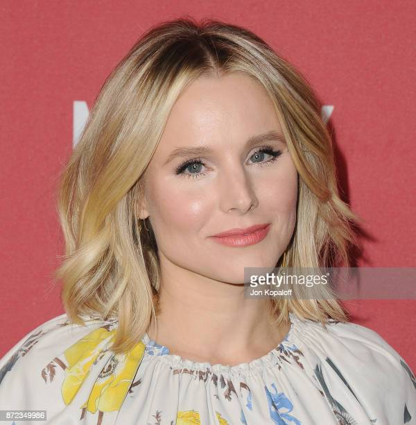 Actress Kristen Bell arrives at SAGAFTRA Foundation Patron of the Artists Awards 2017 on November 9 2017 in Beverly Hills California