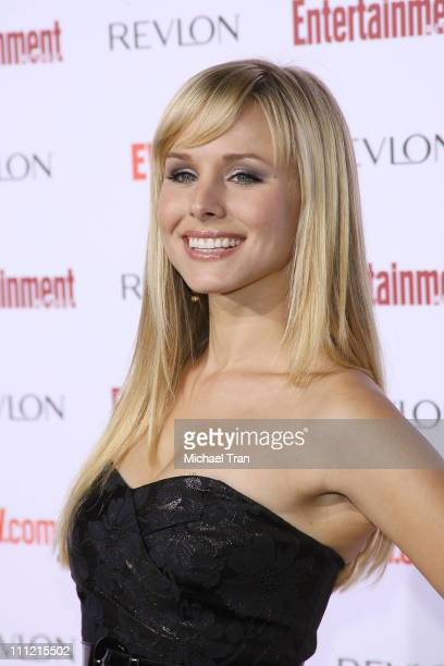 Actress Kristen Bell arrives at the Entertainment Weekly's 5th Annual Pre-Emmy Party at Opera and Crimson on September 15, 2007 in Hollywood,...