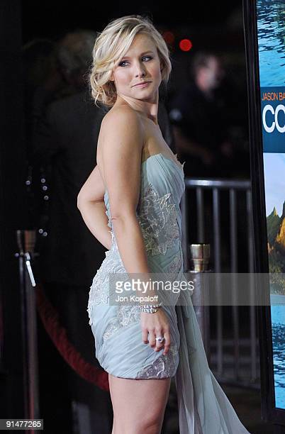 """Actress Kristen Bell arrives at the Los Angeles Premiere """"Couples Retreat"""" at Mann's Village Theatre on October 5, 2009 in Westwood, Los Angeles,..."""