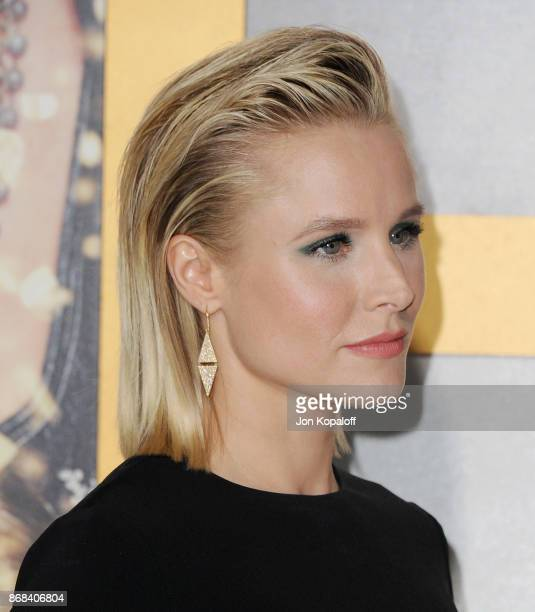 Actress Kristen Bell arrives at the Los Angeles Premiere of 'A Bad Moms Christmas' at Regency Village Theatre on October 30 2017 in Westwood...
