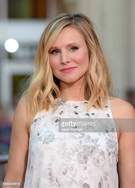 "Actress Kristen Bell arrives at the premiere of Warner Bros. Pictures' ""This Is Where I Leave You"" at TCL Chinese Theatre on September 15, 2014 in..."