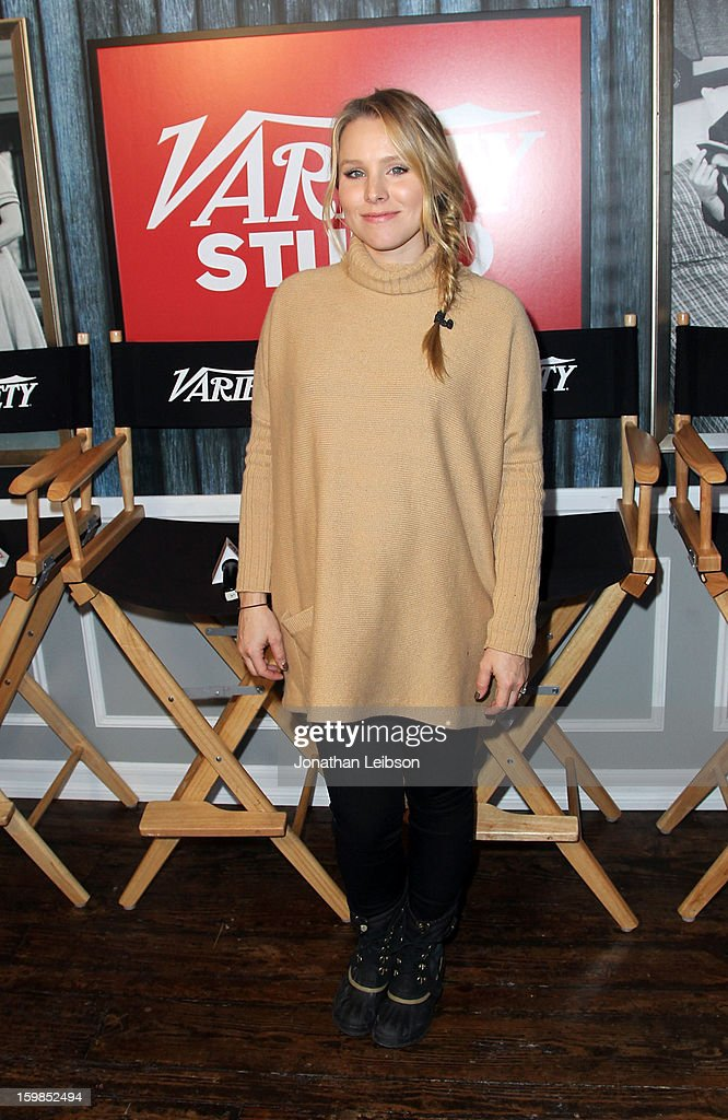 Actress Kristen Bell attends Day 3 of the Variety Studio At 2013 Sundance Film Festival on January 21, 2013 in Park City, Utah.