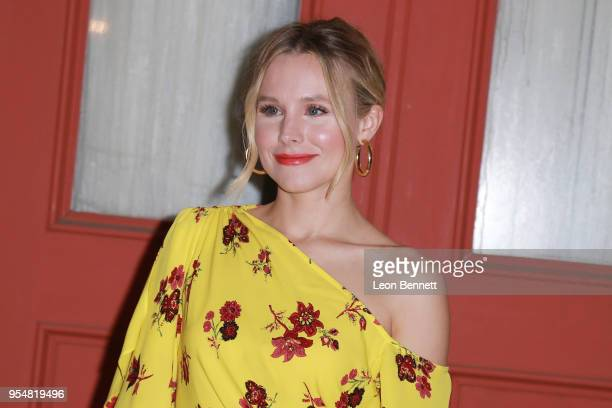 Actress Kristen Bell attends NBC's The Good Place FYC Screening And QA at Universal Studios Backlot on May 4 2018 in Universal City California