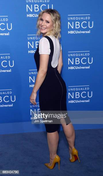 Actress Kristen Bell attends the 2017 NBCUniversal Upfront at Radio City Music Hall on May 15 2017 in New York City