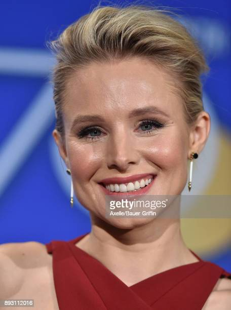 Actress Kristen Bell attends the 75th Annual Golden Globe Nominations Announcement at The Beverly Hilton on December 11 2017 in Los Angeles California