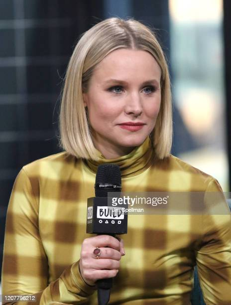 Actress Kristen Bell attends the Build Series to discuss her product line Hello Bello at Build Studio on February 21, 2020 in New York City.